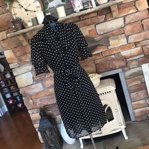 Arden B vintage inspired polka dot dress size S